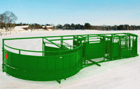 portable cattle handling equipment