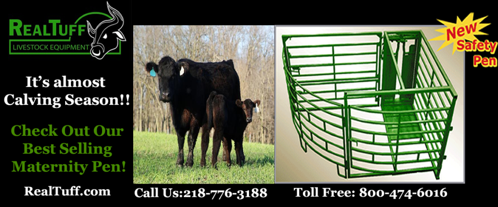 Calving Season Real Tuff Maternity Pen